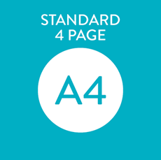 Picture of A4 Standard 4 Page