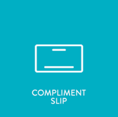 Picture of Compliment Slip