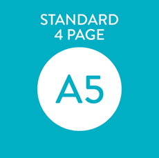 Picture of A5 Standard 4 Page